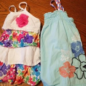 Two cute summer girl tops